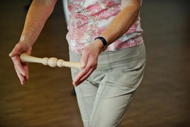 Xiao Qun Taiji, le petit bâton taiji utilisé au cours de Qi Gong