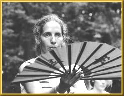 Maryline Chanaud - Premier festival du Yangjia Michuan - Strasbourg (1995)