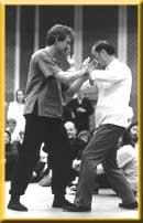 Luc Defago et Maître Wang Yen-Nien