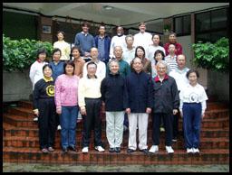 Christian Bernapel et nos amis Chinois